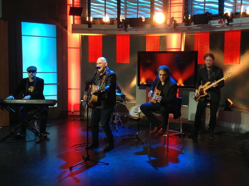 the black sorrows morning show ch7